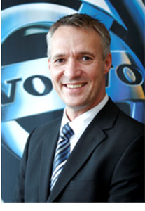 Nyberg, new president of Volvo Trucks North American Sales & Marketing.