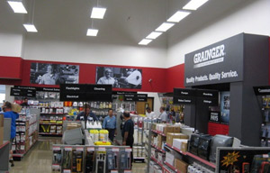 A Grainger showroom