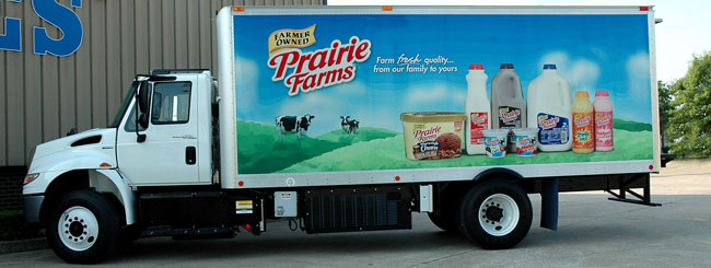 Prairie Farms will put the cold plate refrigeration hybrid unit on the road immediately; five more are to come.