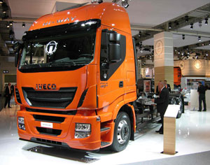 The Iveco Stralis Hi-Way, the European Truck of the Year, has an innovative emissions solution.