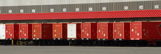 ISO Container movements posted an 18.5 percent increase over 2009 levels. (Photo by Jim Park)