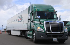 Tacoma, Wash.-based Interstate Distributor Co. expects to save 1.1 million gallons of diesel fuel a year with the 2,058 Freight Wing Aeroflex side skirts the company began installing in July of 2010.