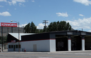 The new Kenworth parts and service facility in Salina, Utah, sits on one and a half acres.