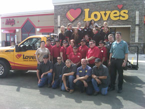 Love's opened a new travel stop in Seguin, Texas, off I-10, Exit 604.