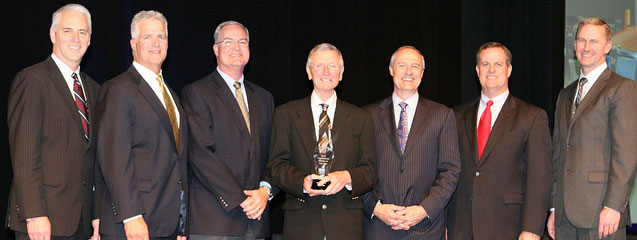 MHC Kenworth - Kansas City is the first recipient of the new Kenworth Paccar MX Dealer of the Year award.
