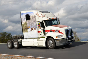 Mack Trucks is again providing a custom-decorated Mack Pinnacle model to deliver the 2012 Capitol Christmas Tree from Meeker, Colo., to the nation's capital.