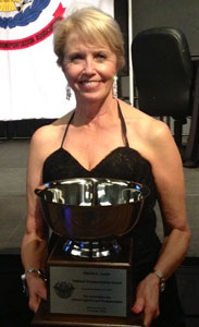 Bennett International Group President and CEO Marcia Taylor was named the 2012 National Transportation Award Winner.