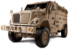 Navistar Defense will provide $880 million in upgrades for more than 2,000 MaxxPro vehicles for the U.S. Marine Corps. (Photo courtesy of Navistar)