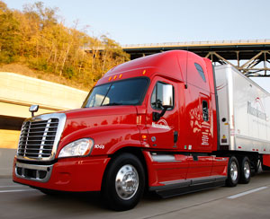 Nussbaum Transportation is one fleet using 6x2 tractor configurations to save fuel.