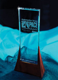 The Pace award recognizes automotive suppliers for superior innovation, technological advancement and business performance