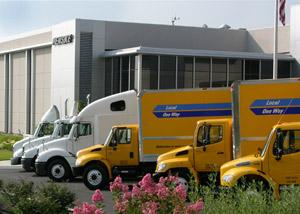 Penske Truck Leasing's headquarters in Reading, Pa.