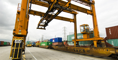A Circuit Court of Appeals has ruled in favor of the Port of Los Angeles on eight requirements on truck drivers serving the port, but the court battle is not over. (Photo courtesy of Port of Los Angeles)