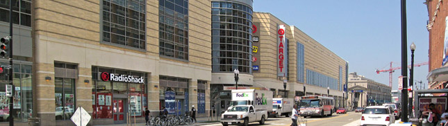 In April, revenue at sporting goods, hobby, book and music stores were down nearly 2 percent. Department store sales were off 1.5 percent, while food and beverage stores saw sales decrease 0.5 percent.