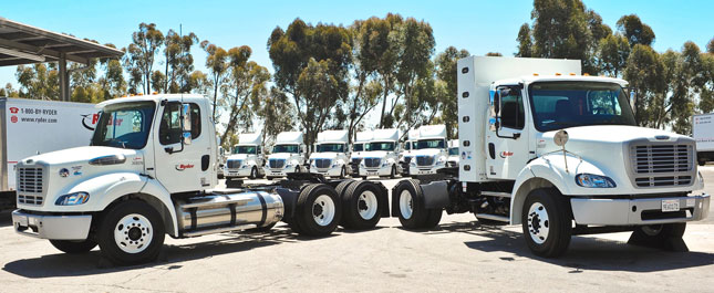 Ryder is making 202 natural gas vehicles available for lease or rent in Southern California with the help of a public/private partnership.