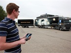Remotely Controlled Double-Trailer Rig Parks Precisely at ZF Demo