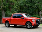 2015 Ford F-150 Named Greenest Pickup