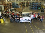 Isuzu Celebrates 30,000th N-Series Truck