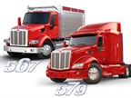 Peterbilt Offers Lighter Steer Axle/Suspension, Safety Tech on 579 and 567