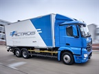 Daimler Testing Heavy-Duty Electric Actros Truck