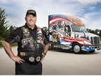 Schneider Chooses Navy Veteran to Drive Ride of Pride Truck