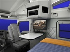 Kenworth Adds In-Cab Satellite TV Package for T680 Sleeper