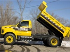 Ford Shows F-750 Tonka Dump Truck