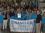 Hadley Wins Daimler Masters of Quality Award Once Again