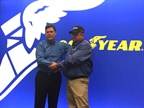 Goodyear Names 34th Highway Hero at MATS