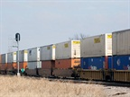 Rail Freight Weakens But Intermodal Grows