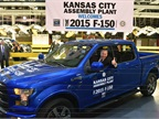 Ford Starts 2015 F-150 Production in Kansas City
