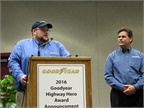 Goodyear Announces Highway Hero Award Finalists