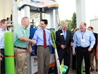 EVO CNG, Trillium CNG Open First CNG Fueling Station in Joint Venture