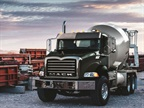 Mack Offers Light-Weight Solution for Concrete Mixer Applications