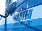 Marten Transport Profit Falls Slightly