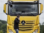 Daimler Unveils Pedestrian, Cyclist Avoidance in Mercedes-Benz Trucks