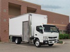Mitsubishi Fuso Displays Curb-Side Access Delivery Truck