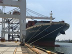Massive Container Ship Arrives at Port of NY/NJ