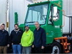 New York Fleet Deploys Orange EV Yard Truck