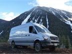Mercedes-Benz Sprinter 4x4 Goes Off-Road