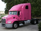 Trucking Shows Support For Breast Cancer Awareness Month