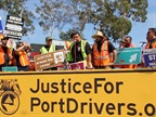 Striking Port Truckers Return to Work