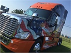 Schneider Presented With Ride of Pride Truck