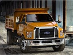 Ford Recalls F-650 Trucks for Steering Column