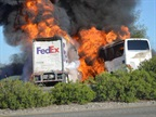 NTSB Investigating FedEx Freight-Bus Crash That Killed 10