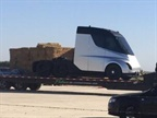 Possible Photo of Tesla's Electric Truck Leaks on Reddit