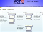Truck Fuel Calculator Compares Diesel to the Alternatives