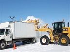Caterpillar Offers TrucBrush to Clear Snow from Trucks