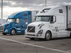 Uber Highlights Self-Driving Truck Hauling Goods Cross Country