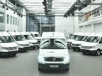 European Fleets to Test Electric Volkswagen Crafter Van
