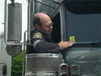 Truck Drivers Ticketed 10 Times Less for Speeding